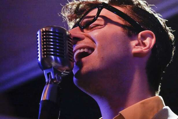 """Jared Mancuso stars in """"Not Fade Away: The Ultimate Buddy Holly Experience,"""" coming to Danbury's Palace Theatre on Saturday, June 24."""