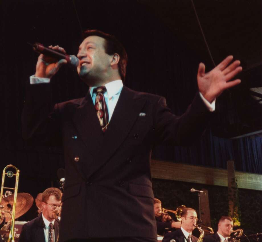 Rob Zappulla and his big band will perform a tribute show to Frank Sinatra on Saturday, June 24, at the Klein Memorial Auditorium in Bridgeport. Photo: Rob Zappulla / Contributed Photo