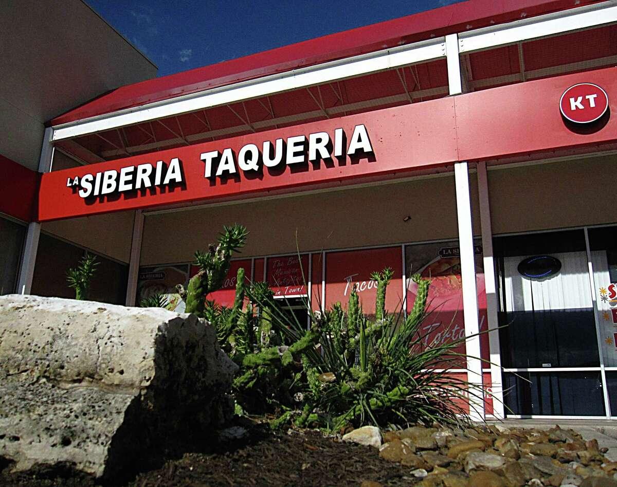 La Siberia Taquería on San Pedro Avenue.