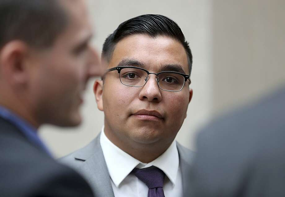 Officer Jeronimo Yanez was acquitted of man slaugh ter in the shooting death of Philando Castile. Photo: David Joles, Associated Press
