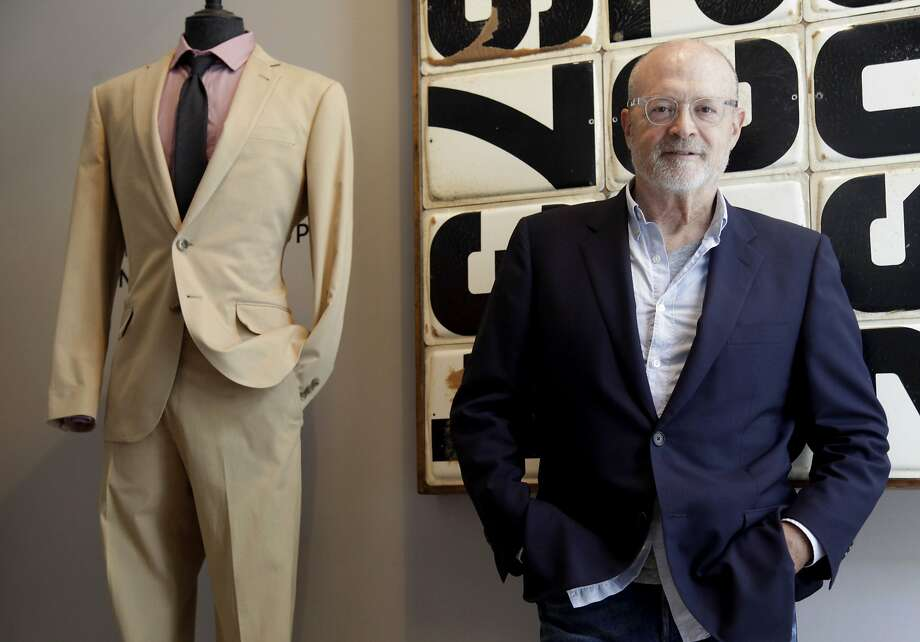 """J. Crew CEO Millard """"Mickey"""" Drexler poses for a picture at a company store in New York. Drexler, who helped rescue Gap Inc. of San Francisco in the 1990s, announced this month that he plans to step down from J. Crew. Photo: Seth Wenig, Associated Press"""