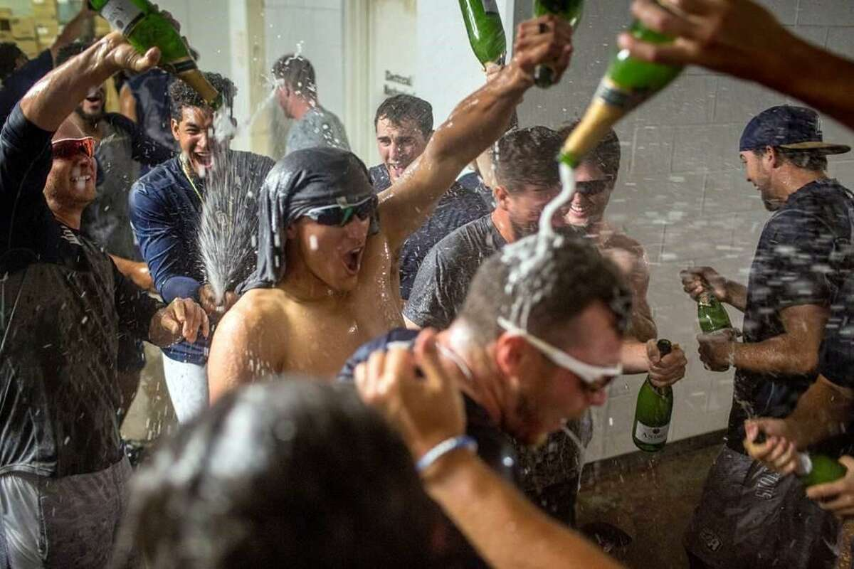 The San Antonio Missions broke out the bubbly to celebrate their first-half Texas League South Division crown after winning at Frisco 6-4 Thursday night.