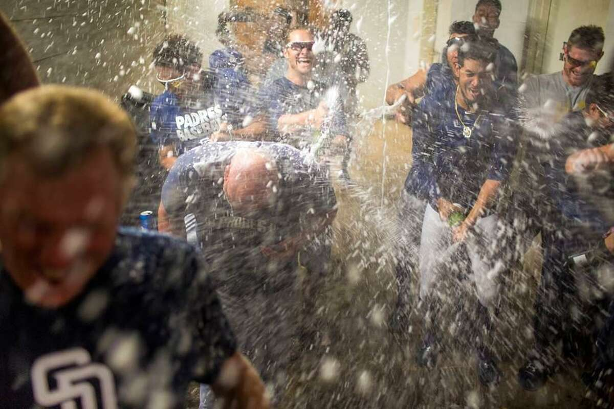 The post-game locker room was jubilant Thursday night after the San Antonio Missions defeated Frisco 6-4 and clinched the first half title of the Texas League's South Division.