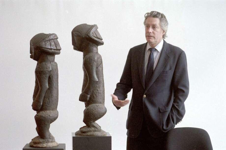 Hopps in 1987 at the Menil Collection. Photo: John Everett, Houston Chronicle / Houston Chronicle