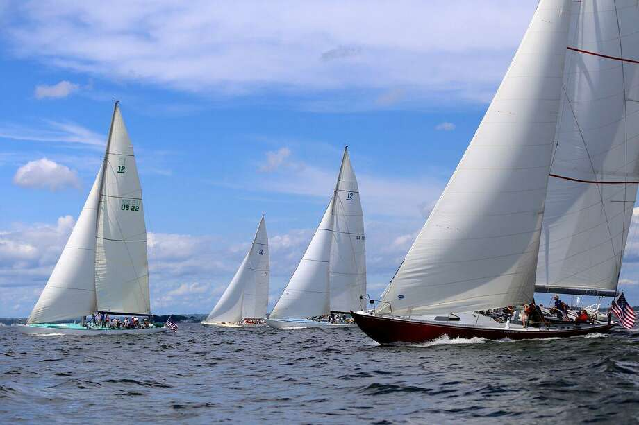 """Wilton, Conn.-based Fjord Weather Systems was named a winner in CTNext's 12th """"Entrepreneur Innovation Awards Competition"""" held June 15, 2017, in Stamford, with an idea for a network of weather monitors on boats. Photo: Mary Alice Fisher / Contributed Photo / Greenwich Time Contributed"""