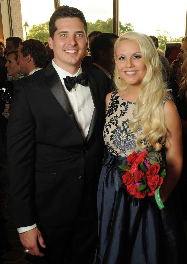 Honoree Stephanie Carroll and her husband, David Carroll Photo: Dave Rossman, Freelance / Dave Rossman