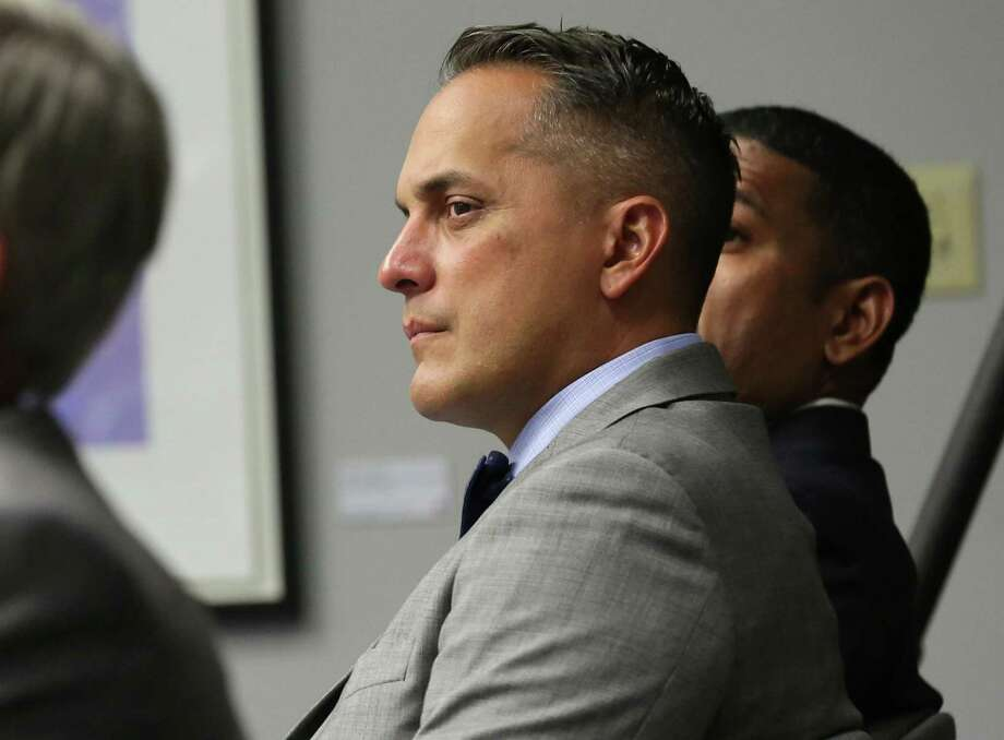 Councilman elect Greg Brockhouse attends the final B session meeting for the current council in the Municipal Complex on Wednesday, June 14, 2017. Photo: Bob Owen, Staff / San Antonio Express-News / ©2017 San Antonio Express-News