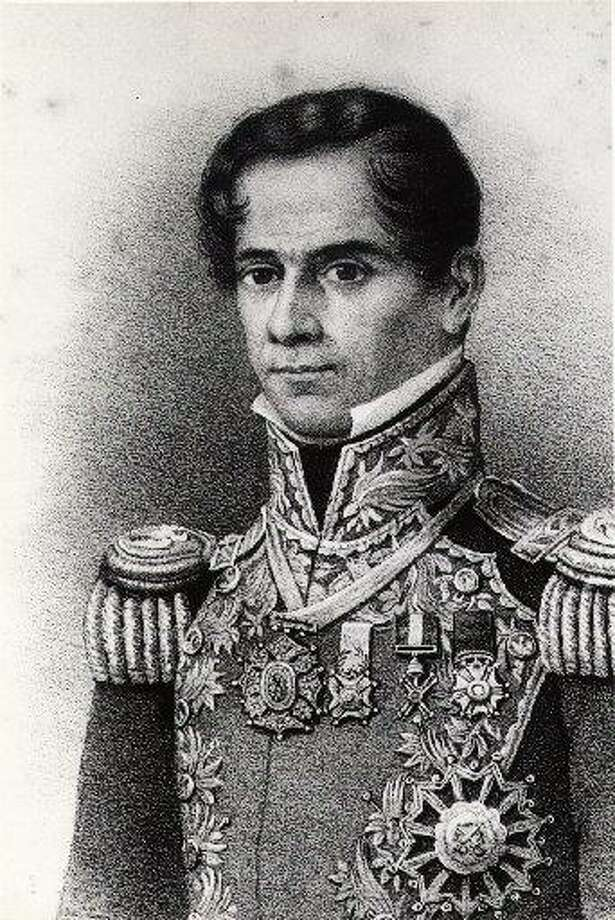 Gen. Santa Anna had just turned 42 when he and his army arrived at the Alamo. Photo: Courtesy Special Collections, M.D. Anderson Library, University Of Houston-University Park