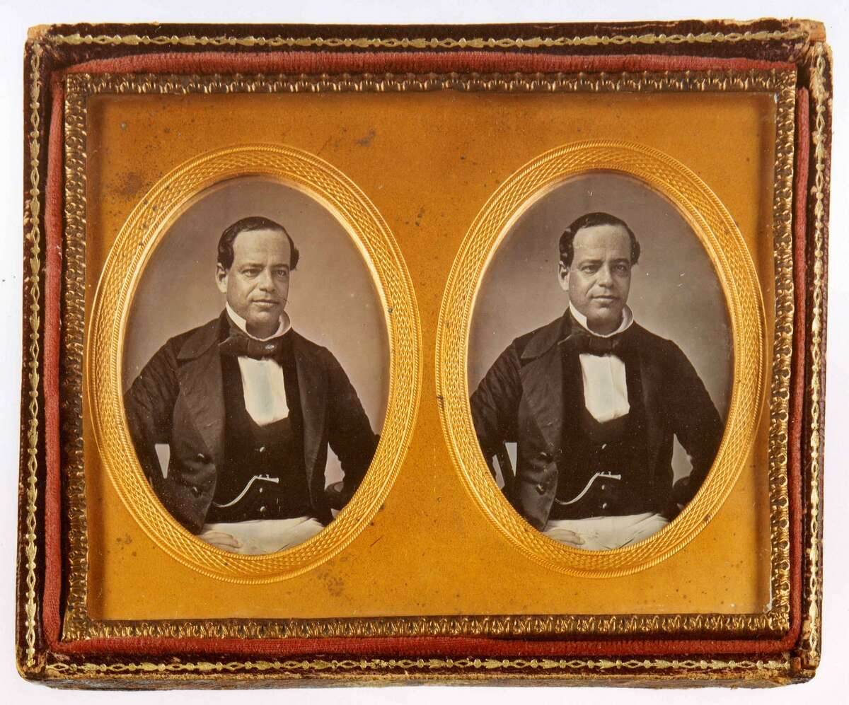 This unpublished photo of Mexican political leader Antonio López de Santa Anna (1794-1876) was among the items up for sale at the Austin Book, Paper & Photo Show in January 2008. At the time, it was valued at $75,000 to $100,000.
