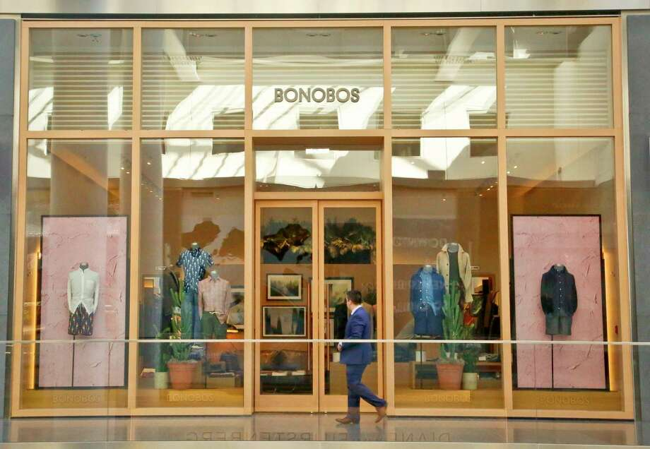 This Bonobos Guideshop is in New York's Financial District. Walmart is buying online men's clothing retailer Bonobos for $310 million. Bonobos caters to male shoppers looking for help putting together their wardrobes. Photo: Bebeto Matthews, STF / Copyright 2017 The Associated Press. All rights reserved.