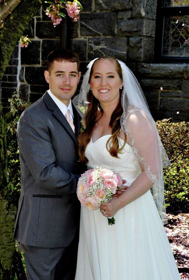 Katie Lynn Peterson and Roth Chapman Stewart were married May 6. Photo: Contributed