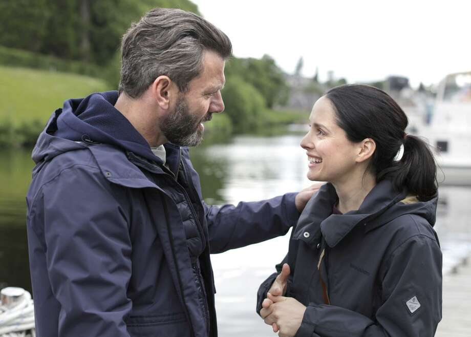 Gray O'Brien and Laura Fraser