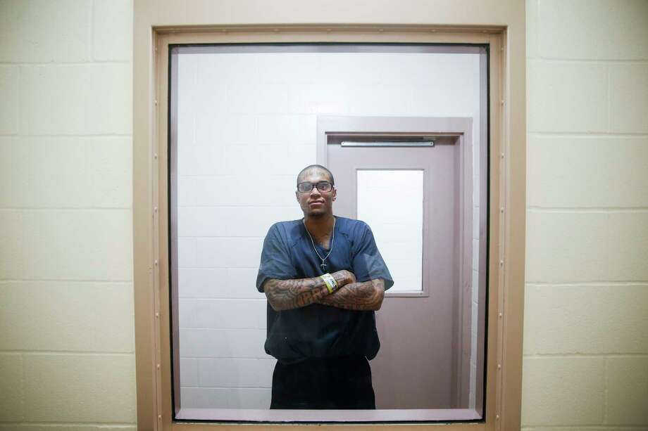 Warren Muldrow, jailed in Richmond having pleaded guilty to a terroristic threat charge, has been in jails and mental health facilities due to bipolar disorder. Photo: Michael Ciaglo, Staff / Michael Ciaglo