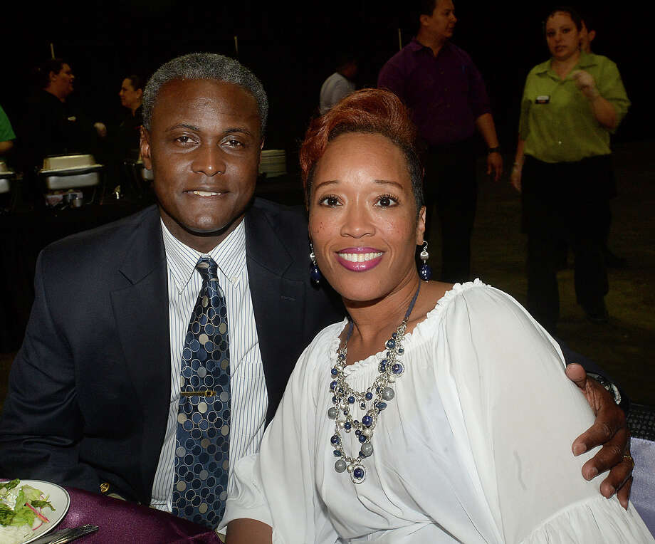 Joseph and Gardenia Malbrough were at the Beaumont NAACP Freedom Fund Banquet, held Friday at the Civic Center. Photo taken Friday, June 16, 2017 Kim Brent/The Enterprise Photo: Kim Brent / BEN