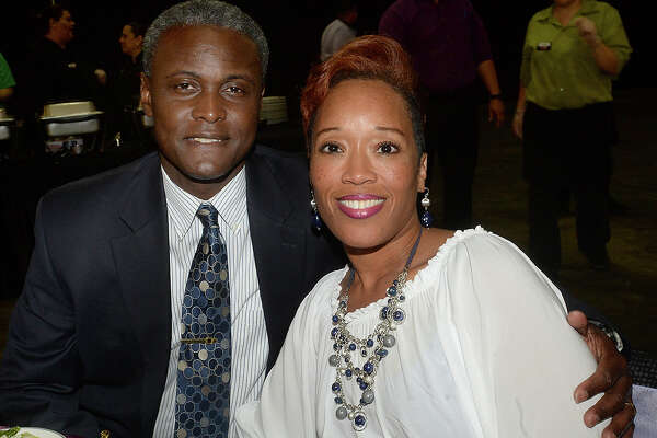 Joseph and Gardenia Malbrough were at the Beaumont NAACP Freedom Fund Banquet, held Friday at the Civic Center. Photo taken Friday, June 16, 2017 Kim Brent/The Enterprise