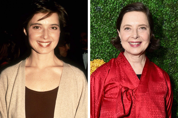 Isabella Rossellini turns 65: Then and now