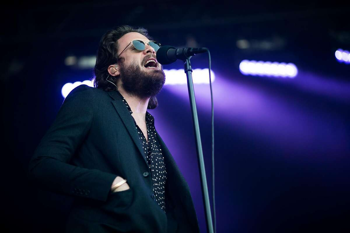 Father John Misty performs at the Monterey International Pop Festival at the Monterey County Fairgrounds in Monterey, Calif. Friday, June 16, 2017.