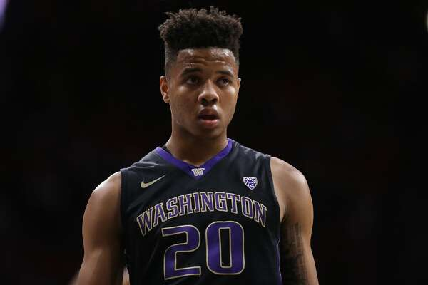 TUCSON, AZ - JANUARY 29:  Markelle Fultz #20 of the Washington Huskies during the second half of the college basketball game against the Arizona Wildcats at McKale Center on January 29, 2017 in Tucson, Arizona. The Wildcats defeated the Huskies 77-66.  (Photo by Christian Petersen/Getty Images)