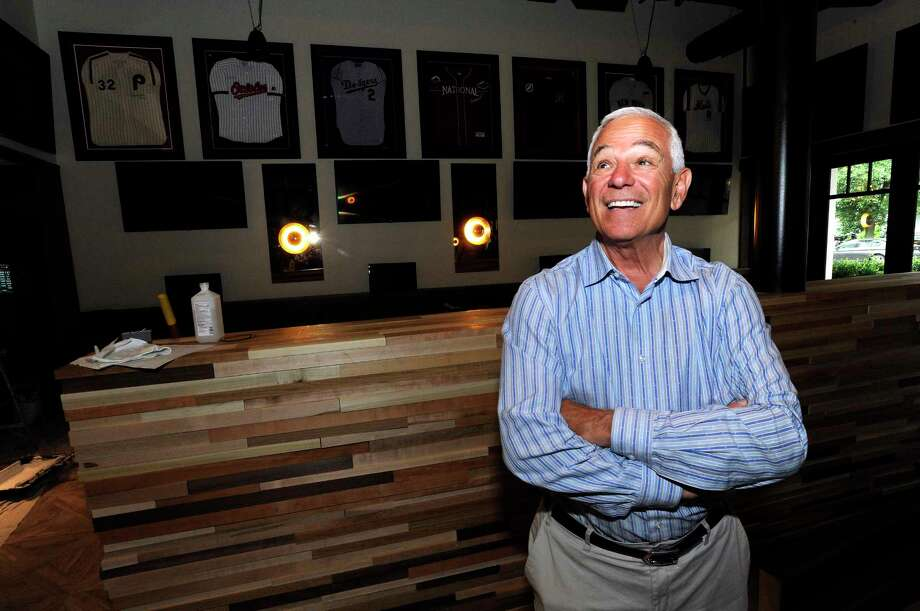 Bobby Valentine smiles as he takes part of the new Bobby V's, a sports bar, restaurant, and OTB lounge in Stamford, Conn., on Friday, June 16, 2017. Photo: Matthew Brown, Hearst Connecticut Media / Stamford Advocate