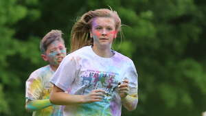 Were you Seen at the Inaugural Spartan Color Run to support the BH-BL Spartan's Pop Warner cheer girls in Burnt Hills on Saturday, June 17, 2017?