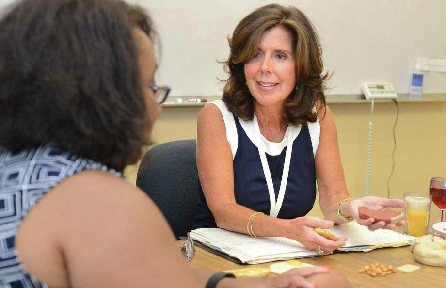 Nutrition Life Style Program Specialist Barbara Schmidt at Norwalk Hospital. Photo: Alex Von Kleydorff / Hearst Connecticut Media / Connecticut Post
