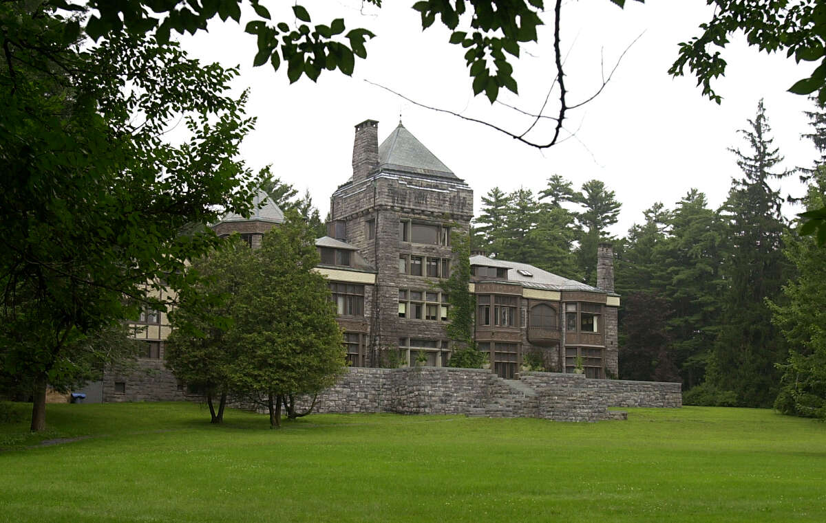 House overlooking Yaddo gardens in Saratoga Springs, NY on Monday August 11, 2003.