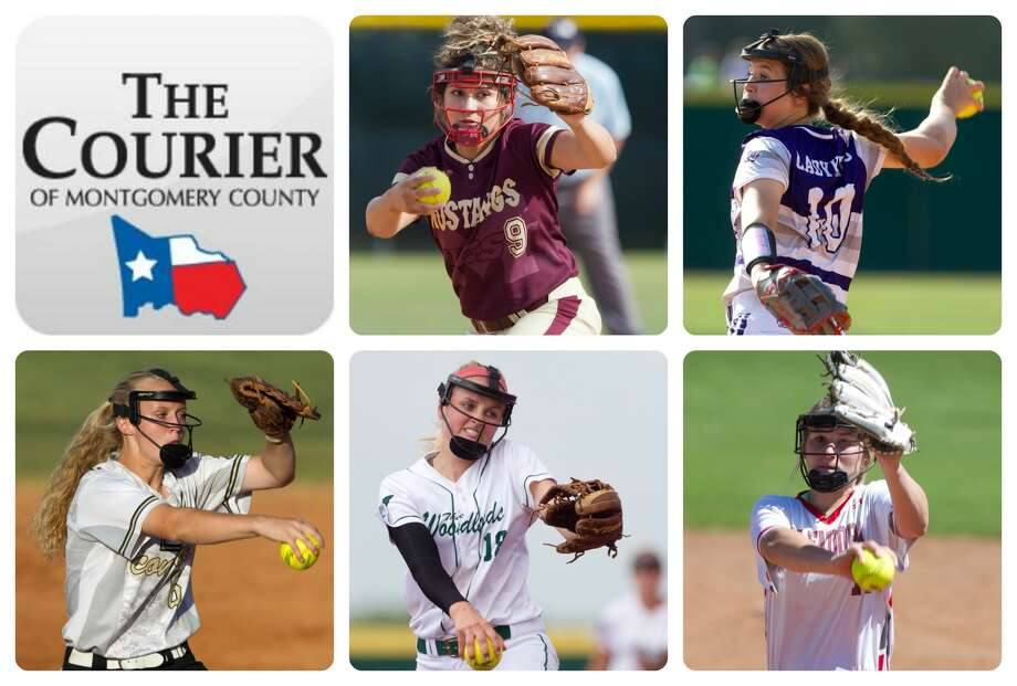 Magnolia West's Ariana Adams, Willis' Casey Dixon, Conroe's Madelyn Tannery, The Woodlands' Emily Langkamp and Splendora's Caleigh Millican are The Courier's nominees for Pitcher of the Year.
