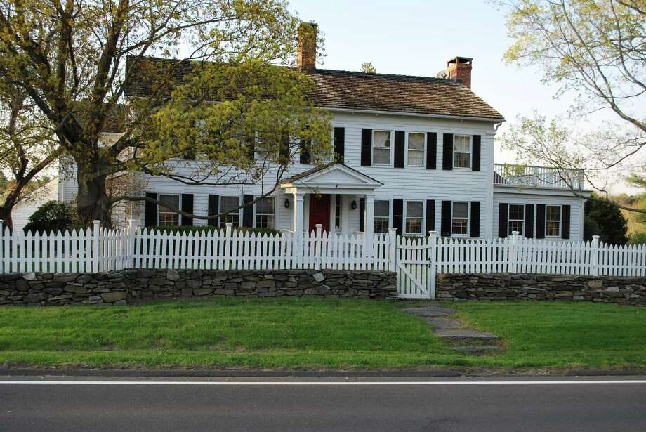 The antique colonial house at 274 Ridgefield Road, the Betts-Middlebrook House, is the ninth oldest house in Wilton, but it was updated to accommodate modern life. Its modern amenities include an elevator. Photo: Contributed Photos
