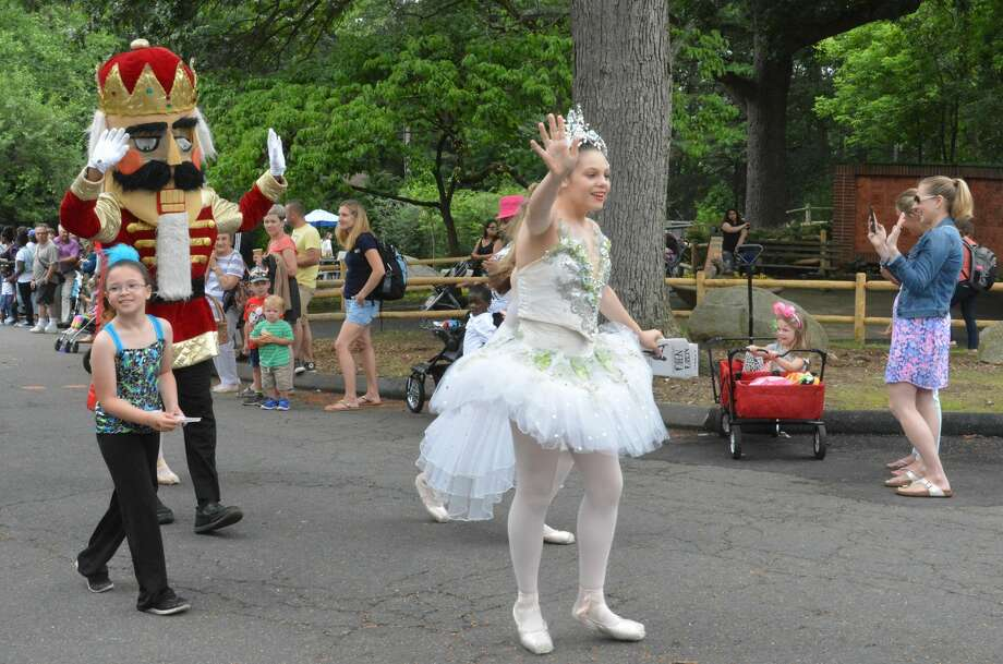 The Barnum Festival annual Wing Ding Parade took place at the Beardsley Zoo in Bridgeport on June 17, 2017. Kids in costume marched by foot, on floats, wagons and bikes. Were you SEEN? Photo: Vic Eng / Hearst Connecticut Media Group