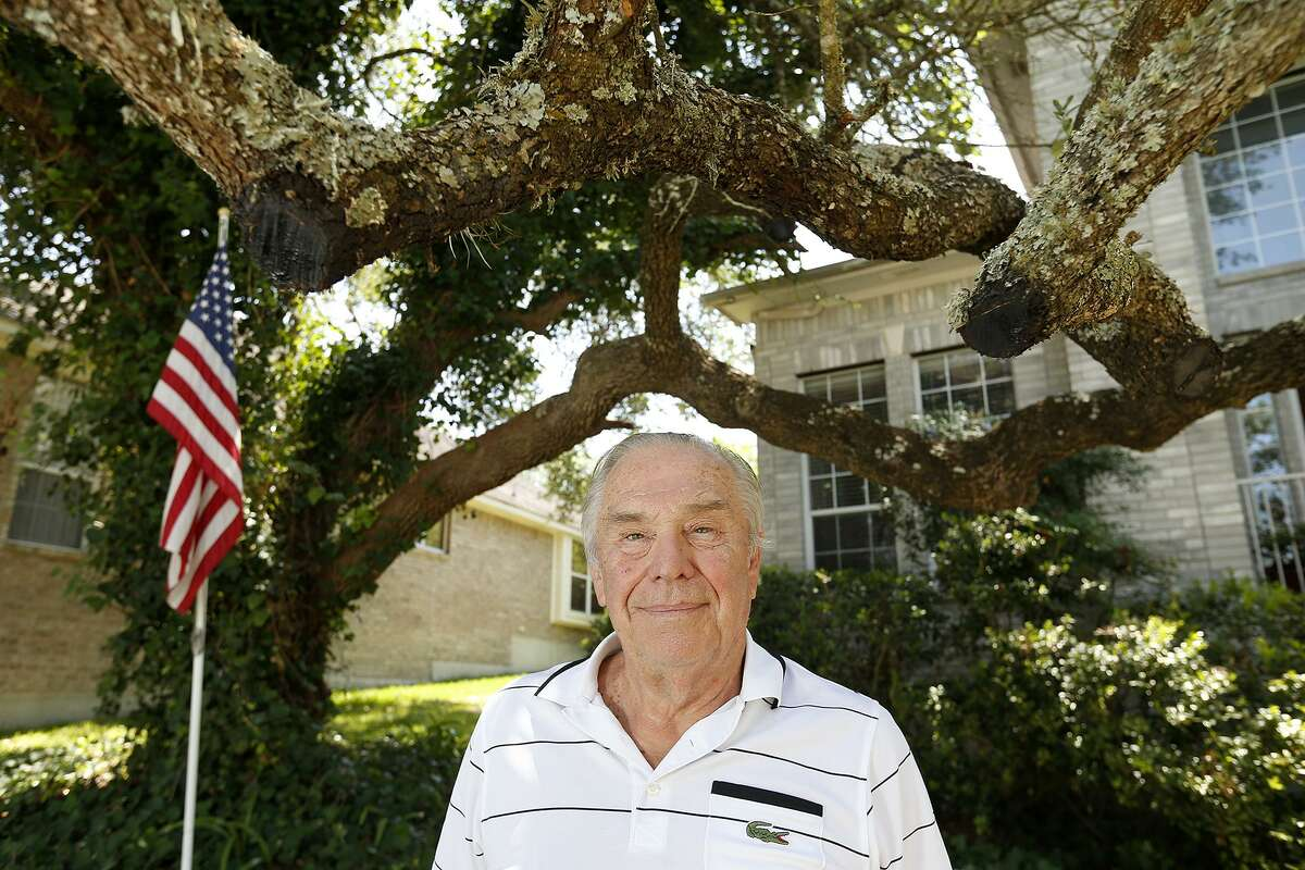 Lawrence A. Smith bought his house on the North Side of San Antonio because of the Live Oak tree in the front yard.