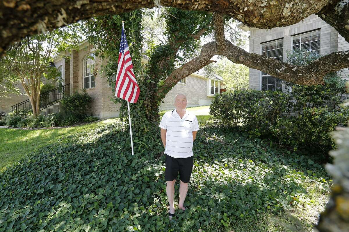 """""""I'm a tree hugger, and I admit it fully,"""" the 80-year-old retired Army lieutenant colonel said."""