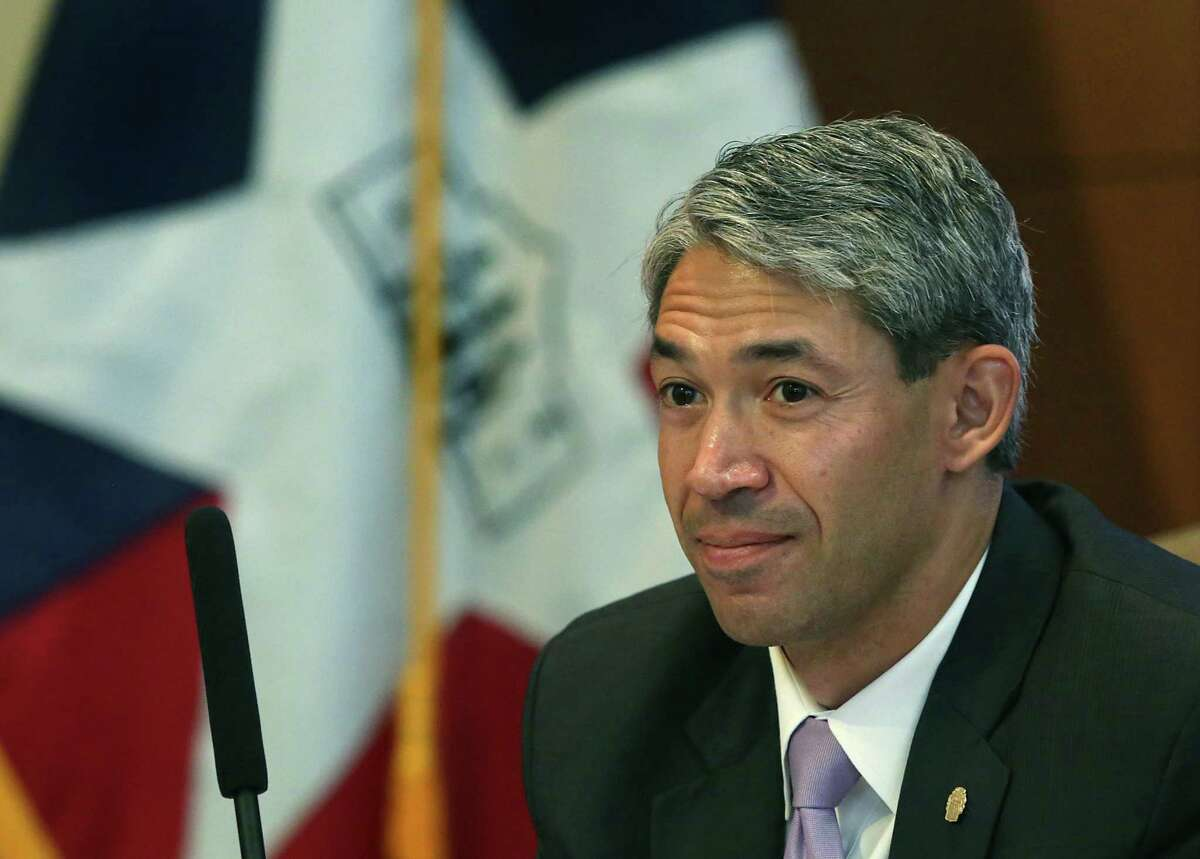 Mayor elect Ron Nirenberg attends his last council meeting as a councilman, in the Municipal Complex on Thursday June 15, 2017.