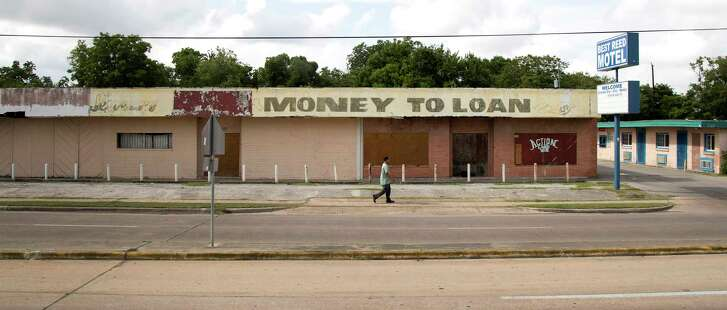 The Sunnyside neighborhood in south Houston saw about one-quarter of its businesses close between 2006 and 2016.