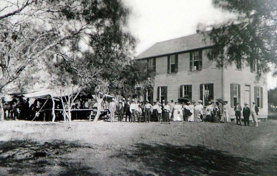 Dated c. 1904, occasion unknown, the second Coker School replaced a one-room school that was the first to serve the community founded by the Coker family.