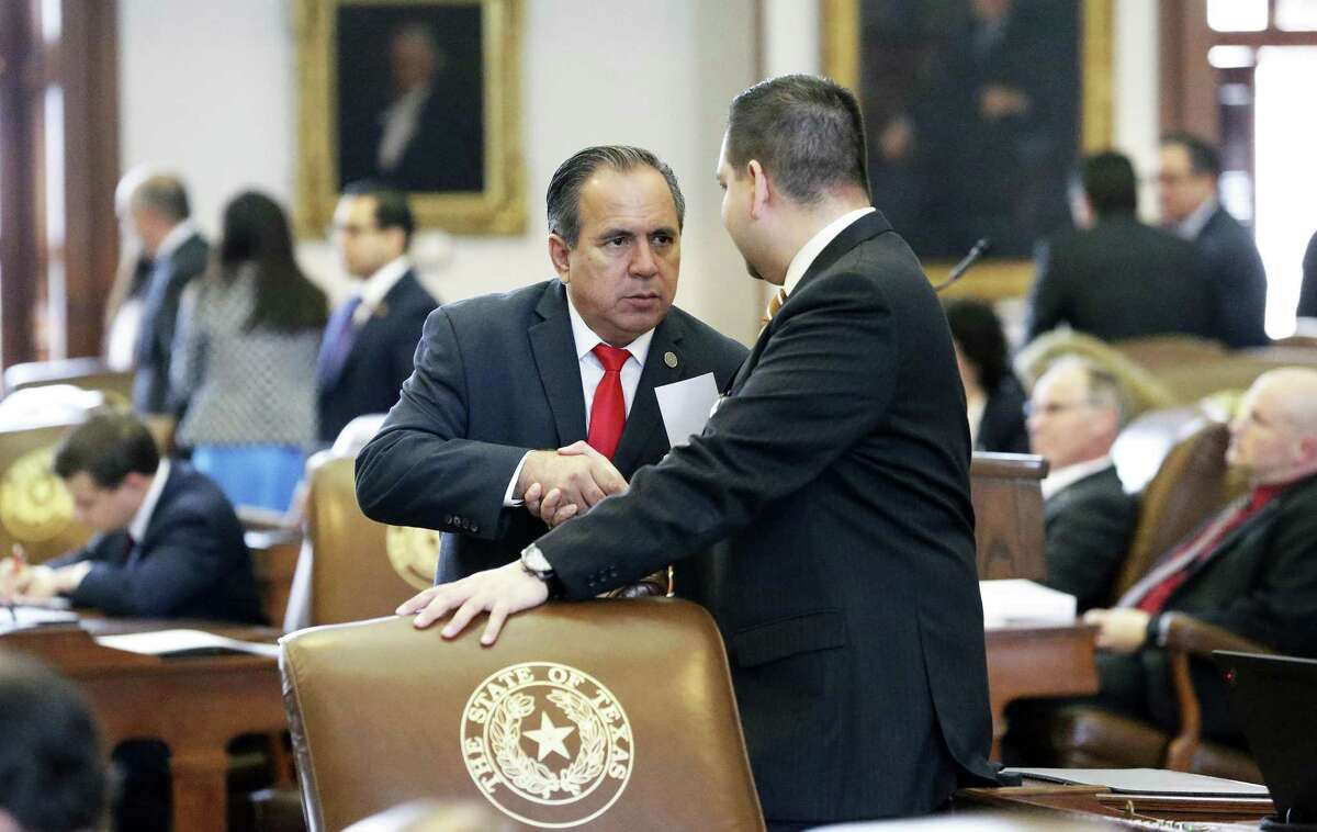 State Rep. Tomas Uresti is a former Harlandale ISD trustee.