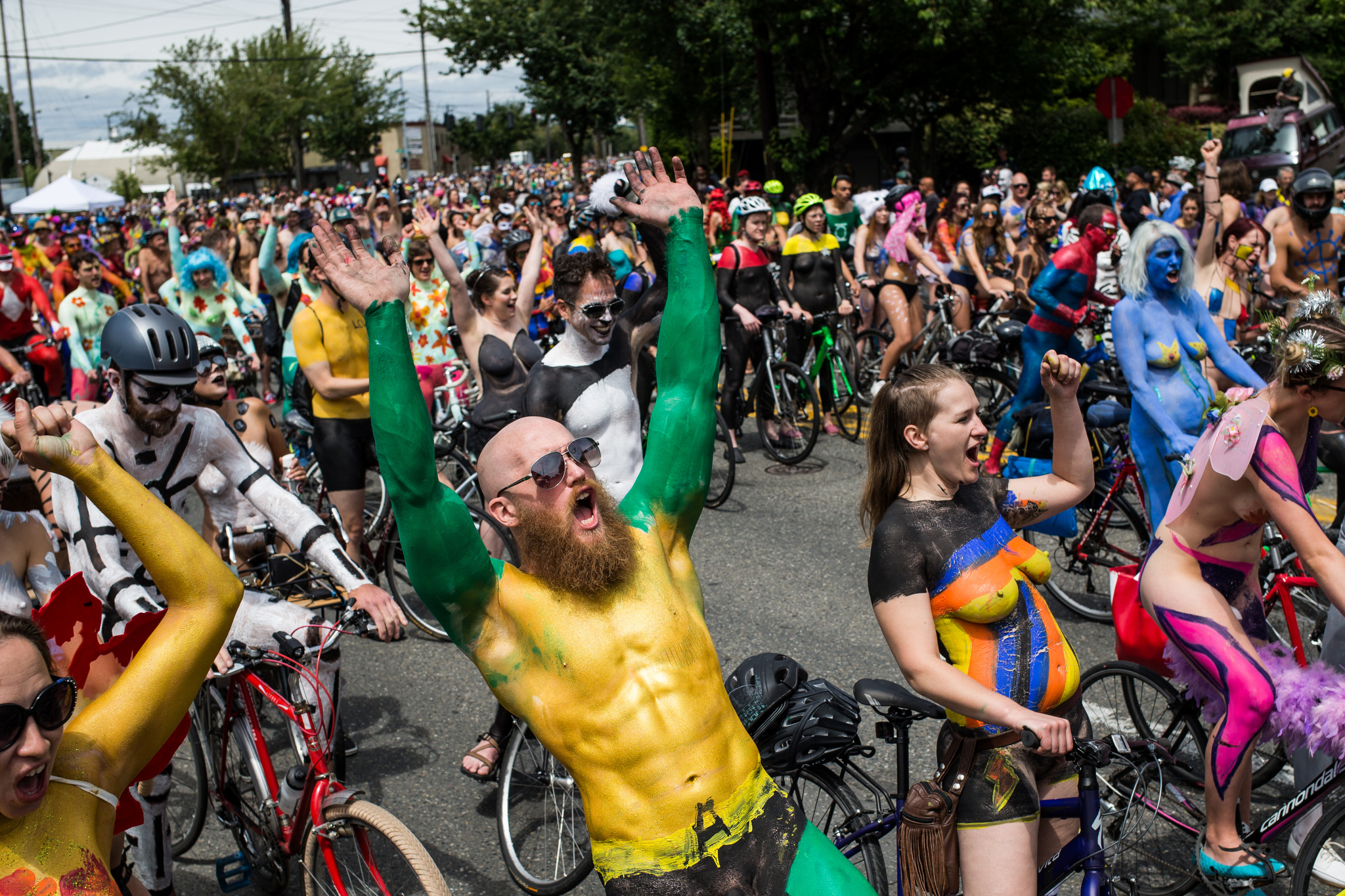Fremont solstice parade 2017 sfgate for Paint store seattle