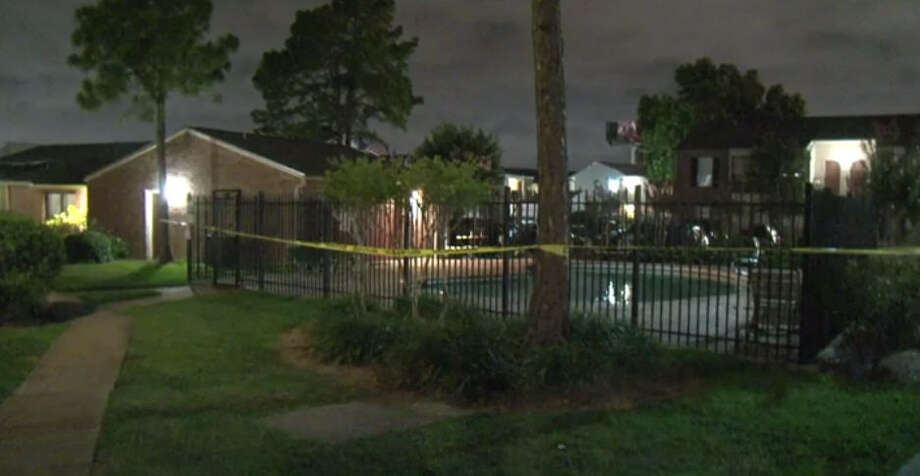 Two people were hit in a drive-by shooting Saturday night. Photo: Metro Video