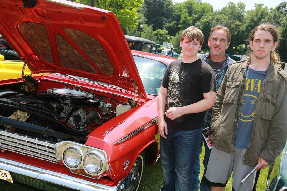 The New England Auto Museum held its annual Father's Day Car Show at Mathews Park in Norwalk on June 18, 2017. Guests enjoyed food, touring the Lockwood-Mathews Mansion and, of course, classic cars. Were you SEEN? Photo: Derek Sterling/Hearst CT Media