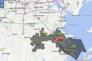 Around 9,000 customers across League City, Dickinson, Texas City and La Marque were affected by a mid-afternoon unplanned power outage.