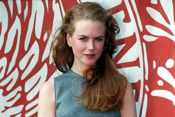 ITALY - SEPTEMBER 01:  Nicole Kidman in Venice, Italia on September 01st, 1999.  (Photo by Eric VANDEVILLE/Gamma-Rapho via Getty Images)