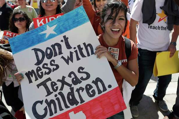 In the hands of the Senate and Lt. Gov. Dan Patrick, HB 21, which would have provided $1.85 billion in additional funding for public schools, became nothing imore than a vehicle for passing school vouchers. (AP Photo/Eric Gay)