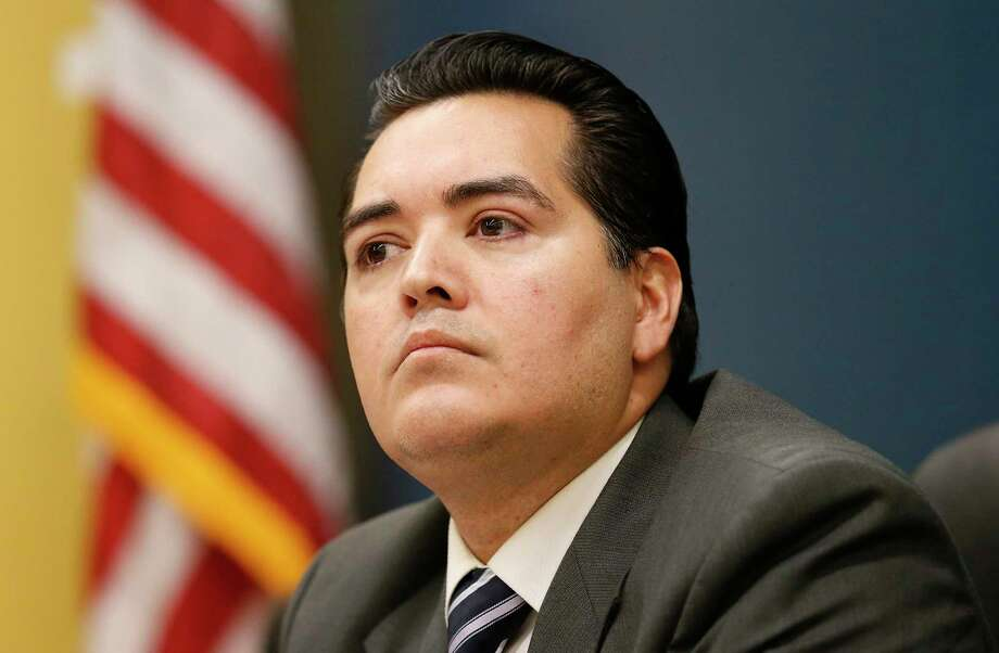 Ex-Crystal City Mayor Ricardo Lopez goes on trial in federal court in Del Rio today with former City Manager James Jonas III on charges including bribery, wire fraud and conspiracy. Photo: Kin Man Hui / San Antonio Express-News / ©2016 San Antonio Express-News