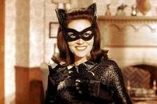 "Lee Meriwether as Catwoman in ""Batman: The Movie"" (1966)."