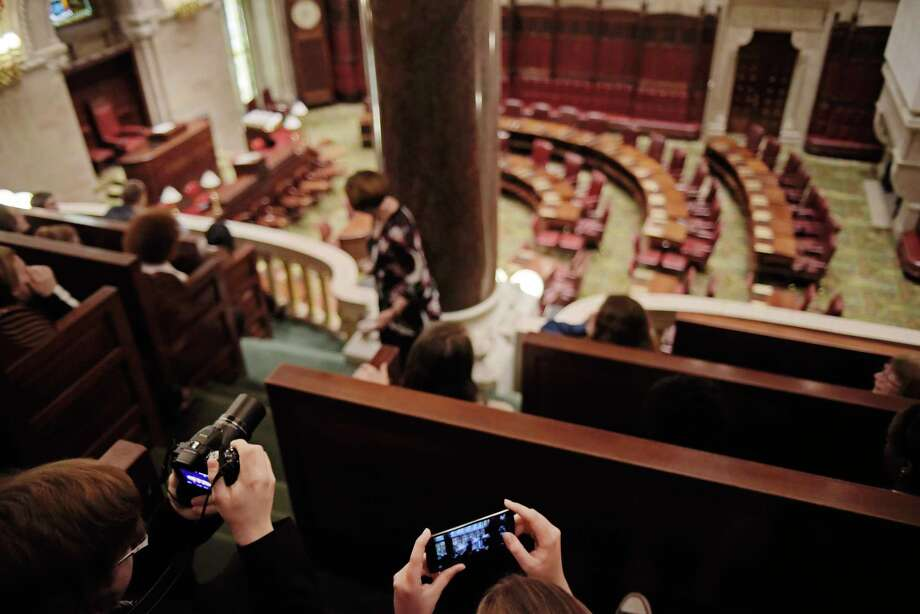 The State Senate (and the Assembly) needs to finish some work before it leaves town  (Paul Buckowski / Times Union) Photo: PAUL BUCKOWSKI / 20040575A