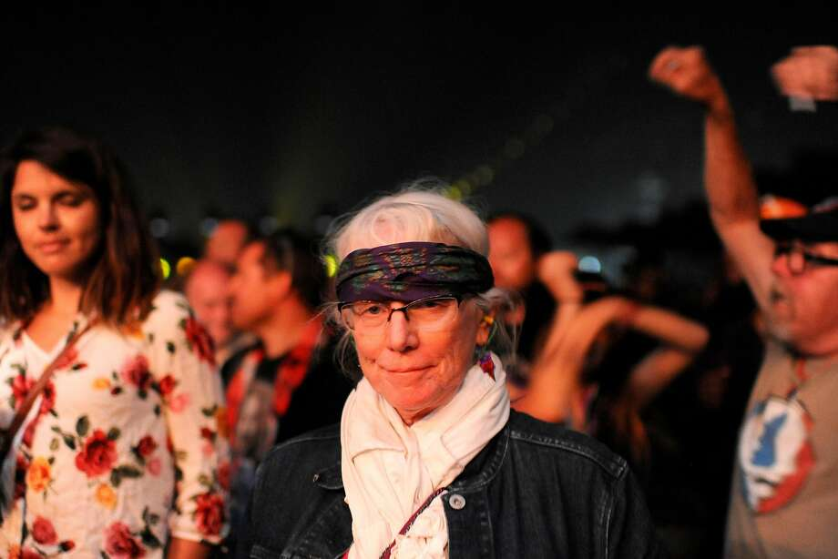 Rita Zero of Santa Cruz, Calif. at the Monterey International Pop Festival Celebrates 50 Years at the Monterey County Fairgrounds in Monterey, Calif. on June 18, 2017. Photo: Nic Coury, Special To The Chronicle