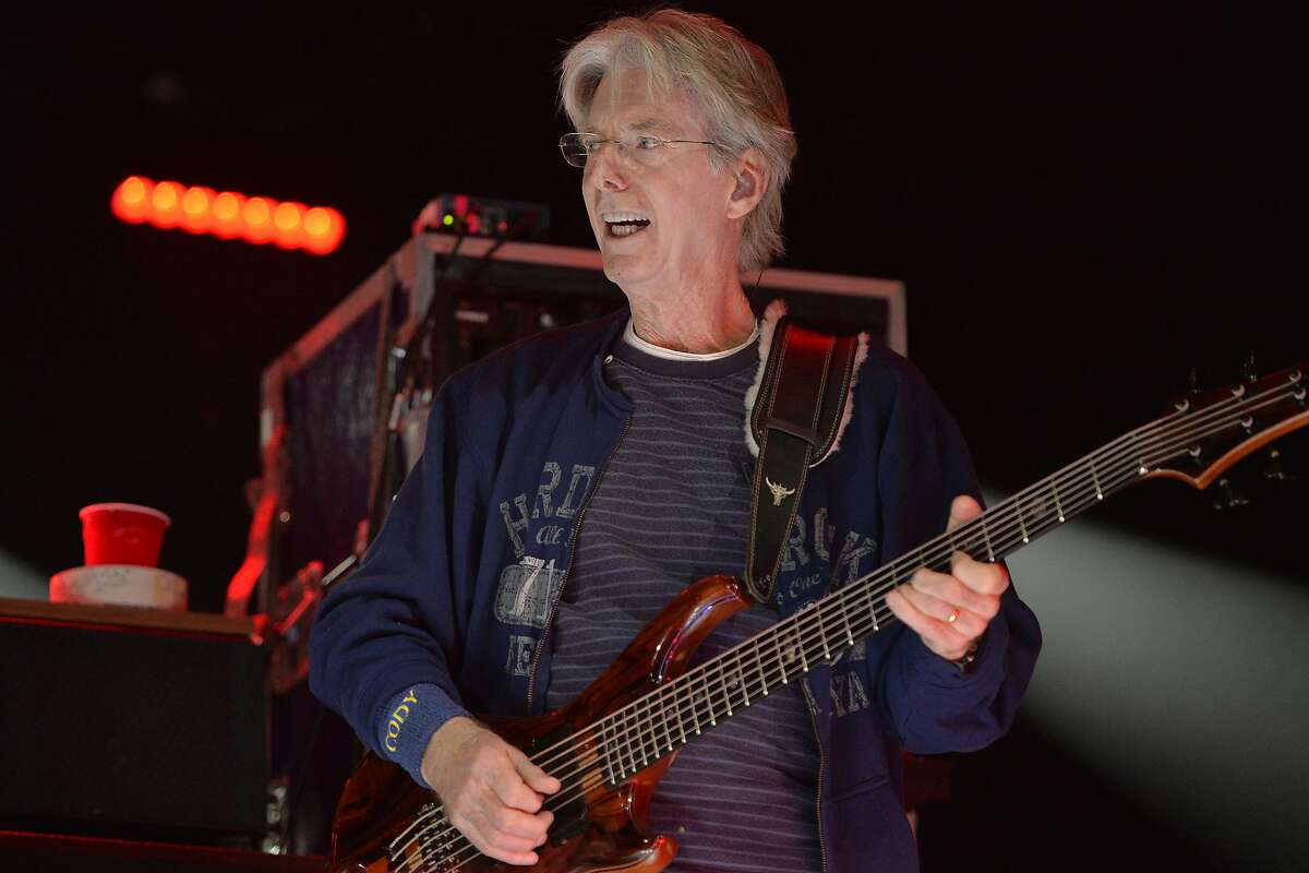 Phil Lesh performs at the Monterey International Pop Festival Celebrates 50 Years at the Monterey County Fairgrounds in Monterey, Calif. on June 18, 2017.