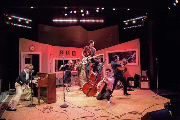 "The cast of ""Million Dollar Quartet"" at Berkshire Theatre Group. Photo: Emma Rothenberg-Ware."
