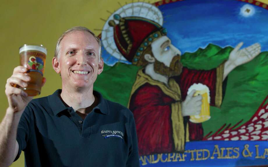 Saint Arnold Brewing Co's founder Brock Wagner poses for a portrait on Tuesday, June 3, 2014, in Houston. Photo: J. Patric Schneider, Freelance / © 2014 Houston Chronicle