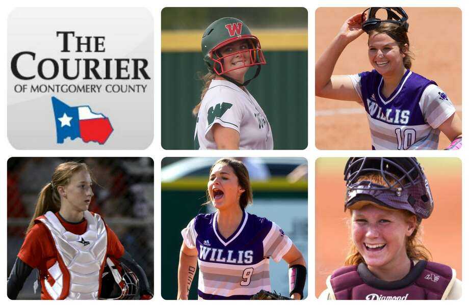 The Woodlands' Kelcy Leach, Willis' Casey Dixon, Splendora's Savanna Parker, Willis' McKenzie Parker and Magnolia West's Caitlyn Rogers are The Courier's nominees for Player of the Year.