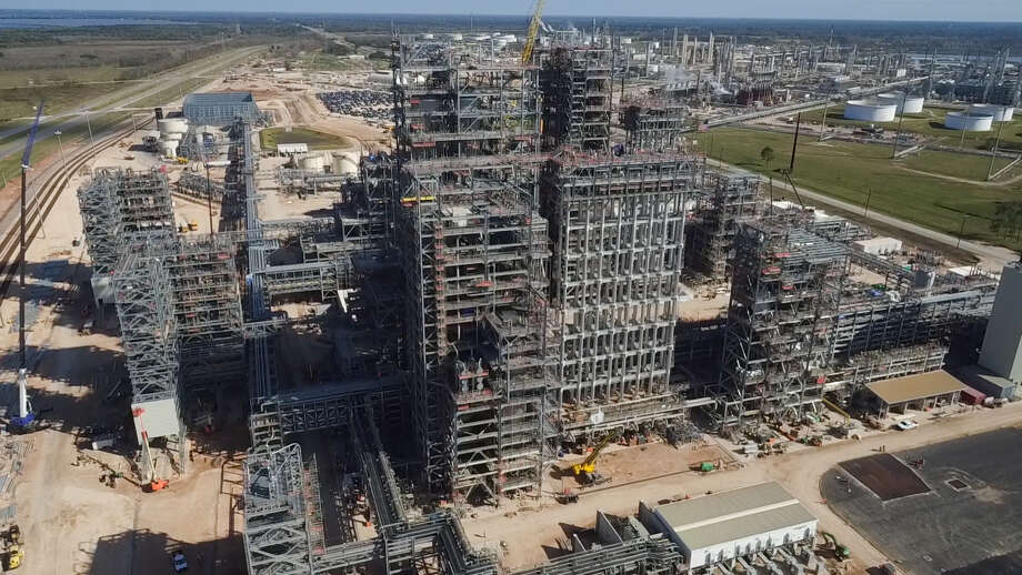 Chevron Phillips Chemical should wrap up construction in the third quarter of 2017 on a polyethylene facility in Old Ocean. Photo: Chevron Phillips Chemical